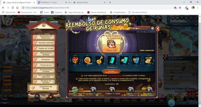 Juego oficial de página de Naruto español - Google Chrome 10_12_2018 1_54_43