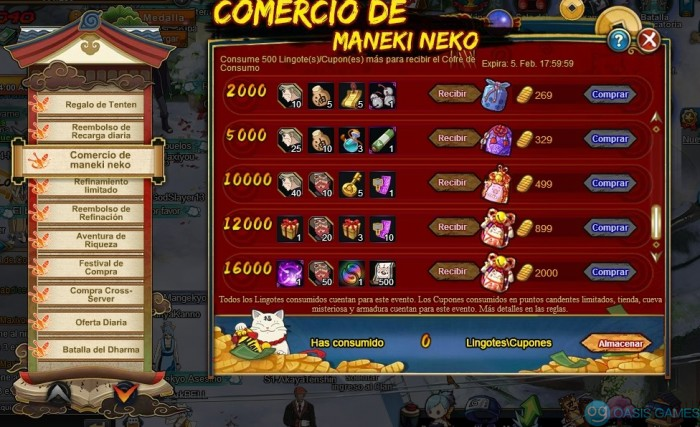 Juego oficial de página de Naruto español200129180812
