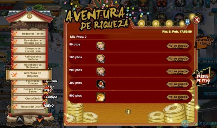 Juego oficial de página de Naruto español200129180319