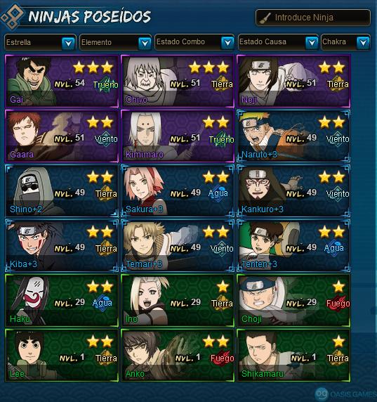 mis ninjas